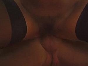 Lading sperma in hoerige oma haar behaarde kut